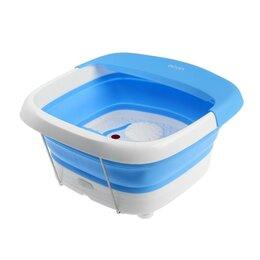 Гидромассажеры - Массажная ванночка для ног Еcon ECO-FS101, электрическая, 60 Вт, 2 реж., ИК-п..., 0
