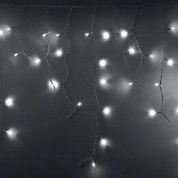 Ёлочные украшения - Гирлянда  2,4х0,6м бахрома Neon-Night, 0