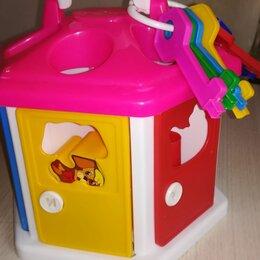 Развивающие игрушки - Сортер домик с ключами , 0