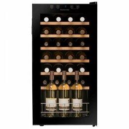 Винные шкафы - Встраиваемый винный шкаф dunavox dx-57.146dbk, 0