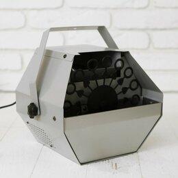 Мыльные пузыри - Генератор мыльных пузырей, на пульте, 220 В, 16 колец, 0
