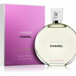 Парфюмерия - Chanel chance eau fraiche eau de toilette 100ml, 0