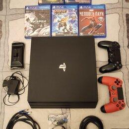 Игровые приставки - Игровая приставка Sony PlayStation 4 Pro 1 тб, 0