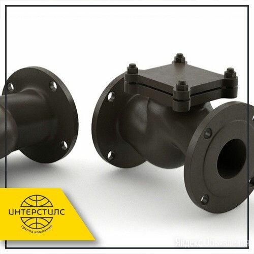 Клапан обратный чугунный 16ч6р Ду 32 Ру 16 по цене 834₽ - Водопроводные трубы и фитинги, фото 0