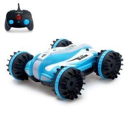 Радиоуправляемые игрушки - Машина-перевёртыш р/у «Амфибия», 4WD, плавает по воде, 0