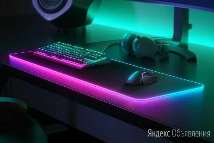 Коврик для мыши с RGB подсветкой по цене 3600₽ - Коврики для мыши, фото 0