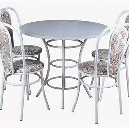 Столы и столики - Обеденный комплект [(1+4) Пластик стол + 4 стула Венский (эмаль)], 0