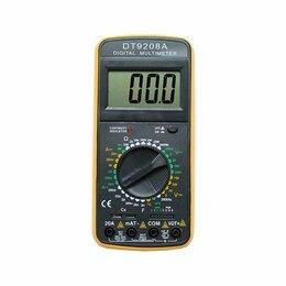 Измерительное оборудование - Мультиметр DT9208A, 0