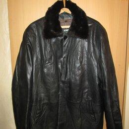 Куртки - Куртка нат .кожа.ТОТО 54-56, 0