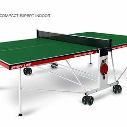 Столы - Теннисный стол Compact Expert Indoor green, 0