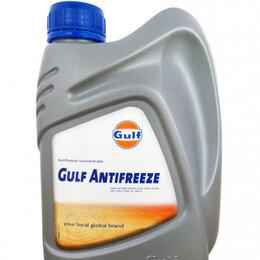 Химические средства - Антифриз концентрированный синий GULF Antifreeze (1л)***, 0