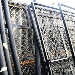 Заборы, ворота и элементы - Ворота и калитки для заборов, распашного типа Новосиль, 0