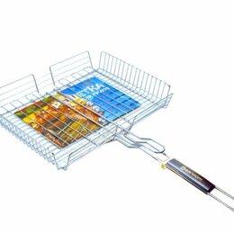 Решетки - Решетка для гриля хромированная Р-250х320мм М глубокая 1-24, 0
