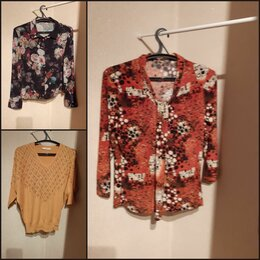 Блузки и кофточки - Блузки женские пакет, 0
