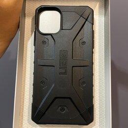 Чехлы - Чехол Uag Pathfinder для iPhone 11 чёрный (Black), 0