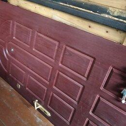 Входные двери - Двери входные металлические  бывшие в употреблении, 0