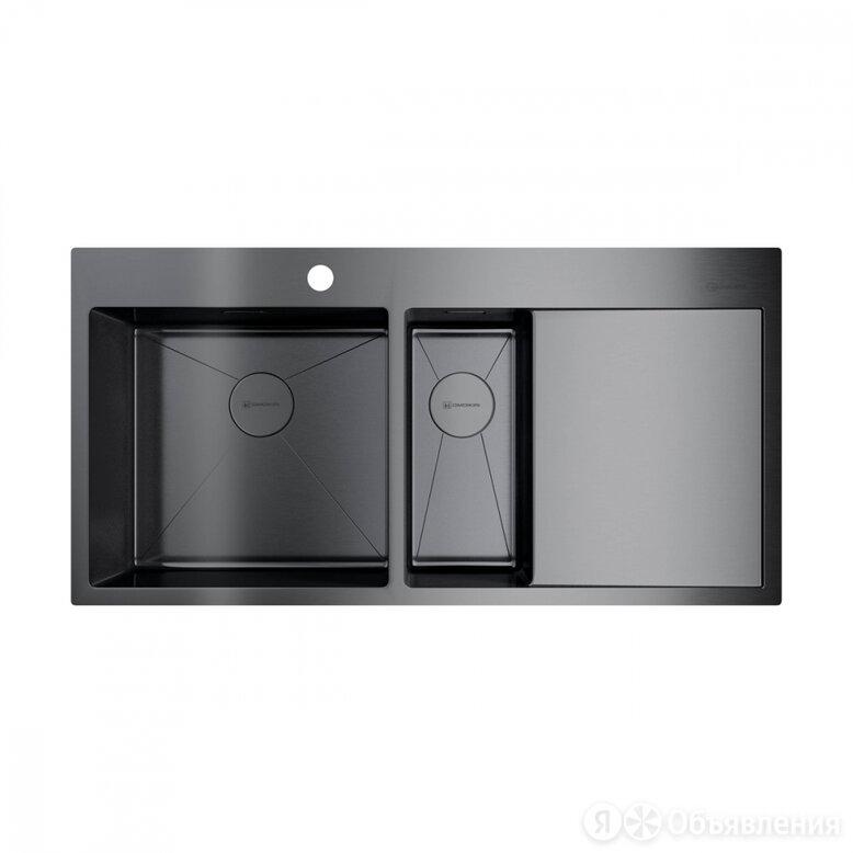 Кухонная мойка omoikiri Akisame 100-2-GM-L по цене 79088₽ - Кухонные мойки, фото 0