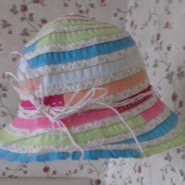 Головные уборы -    Шляпка панамка для девочки, 0