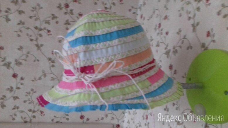 Шляпка панамка для девочки по цене 300₽ - Головные уборы, фото 0