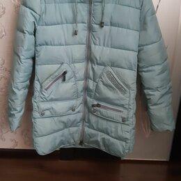 Куртки и пуховики - Куртка на синтепоне зимняя для девочки, 0