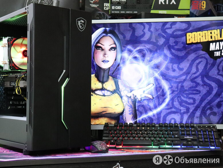 Игровой ПК i7-3770 GTX 1050Ti 4GB 8GB RAM 240 GB RNDM б.у. по цене 33680₽ - Настольные компьютеры, фото 0