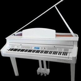 Клавишные инструменты - Новый Цифровой рояль Medeli белый. Доставка, 0