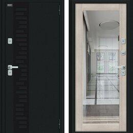 Входные двери - Входная дверь Thermo Флэш Декор Букле черное Cappuccino Veralinga, 0
