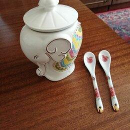Ёмкости для хранения - Чайница (сахарница) с ложками, 0