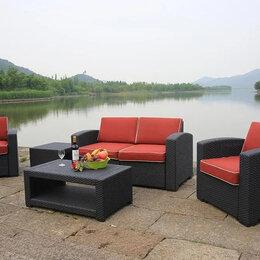 Комплекты садовой мебели - Мебель садовая Под ротанг Premium 4, 0