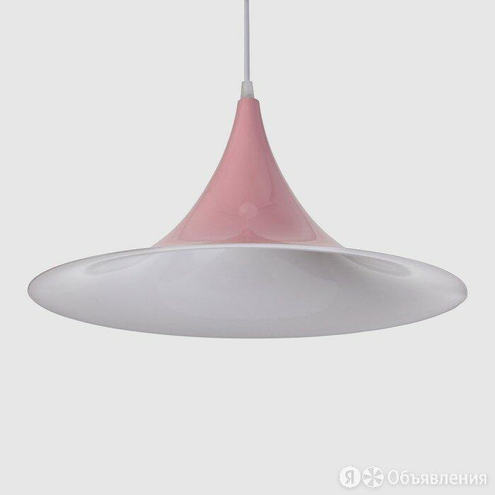 Светильник 4020 1х40Вт Е14 розовый 41х41х20см по цене 1524₽ - Люстры и потолочные светильники, фото 0