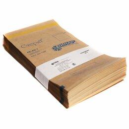 Расходные материалы - Пакеты бумажные самоклеящиеся «СтериТ» 250*320 мм (крафт 100шт), 0