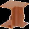 Внутренний угол КМВ 20х10 дуб IEK по цене 29₽ - Товары для электромонтажа, фото 0
