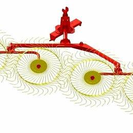 Спецтехника и навесное оборудование - Грабли ворошилки  Харвест Harvest 4 колесные Граблина Гребалка, 0