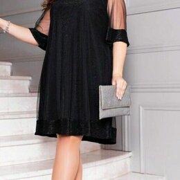 Платья - Блестящее вечернее платье большого размера р-ры 54-64, 0