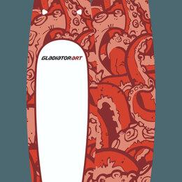 Аксессуары для плавания - Sup доска gladiator octopus 12'6, 0