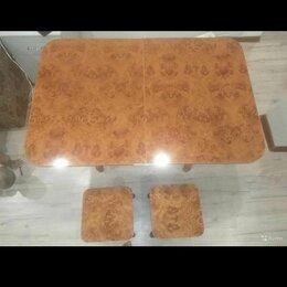 Столы и столики - Кухонный стол+2 стула, 0