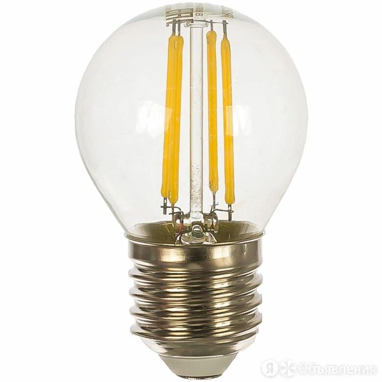 Лампа Gauss LED Filament Globe E27 5W 4100K по цене 164₽ - Люстры и потолочные светильники, фото 0