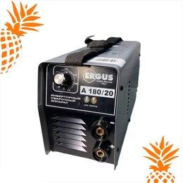 Сварочные аппараты - Сварочный инвертор ERGUS A180/20, 0