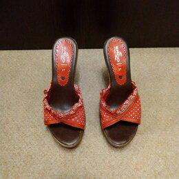 Сабо - Клоги, сабо на каблуке+ платье в подарок, 0
