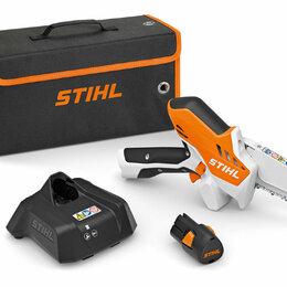 Электро- и бензопилы цепные - Аккумуляторная мини - пила STIHL (Штиль) GTA 26, 0