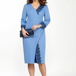 Платья - Платье 2040 TEZA голубое Модель: 2040, 0