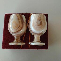 Бокалы и стаканы - Рюмки из оникса для шампанского, 0