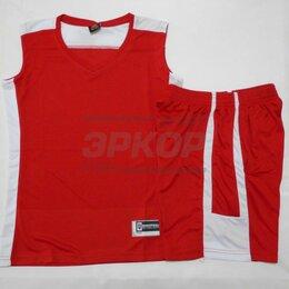 Спортивные костюмы и форма - Форма баскетбольная майка шорты красно-бел жен (х5), 0