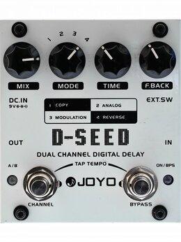 Процессоры и педали эффектов - Joyo D-Seed гитарная педаль дилей USED, 0