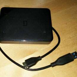 Жёсткие диски и SSD - Внешний жёсткий диск на 2 терабайта USB 3.0, 0