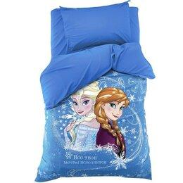 """Постельное белье - Постельное бельё 1.5 сп """"Холодное сердце: принцессы"""" 143х215 см, 150х214 см, ..., 0"""