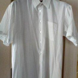 Рубашки - Мужская рубашка (белая) Gianni Armani, размер 44-46 (S), 0
