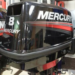 Моторные лодки и катера - Mercury 8 Б/У лодочный мотор, 0