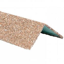 Отделочный профиль, уголки - Уголок внешний металлический HAUBERK Античный 50*50*1250мм, 0