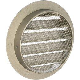 Вентиляционные решётки - Круглая алюминиевая решетка ERA 10РКМ, 0